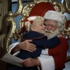 cindy sees santa